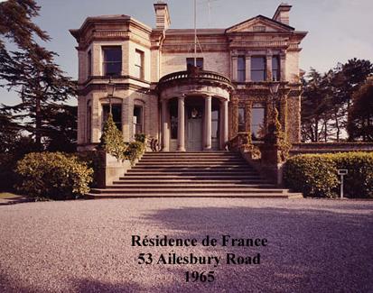 history of the french residence in dublin ambassade de france en