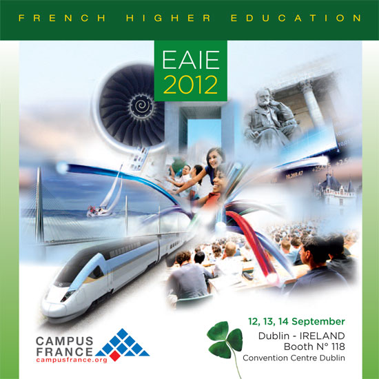 2012 - EAIE Conference and Exhibition - Ambassade de France