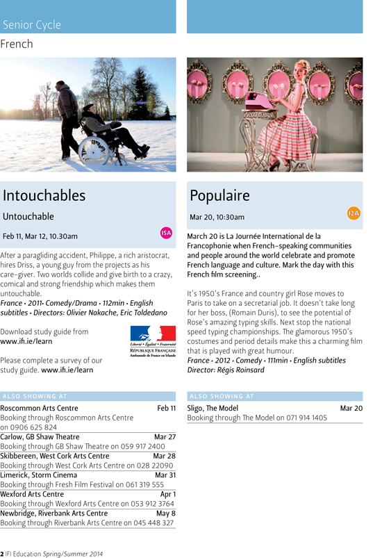 the intouchables english free online