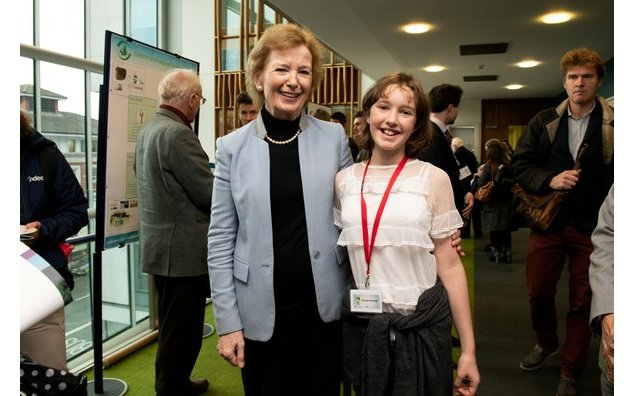 Ms Mary Robinson & Flossie Donnelly