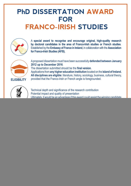 Phd dissertation help james franco
