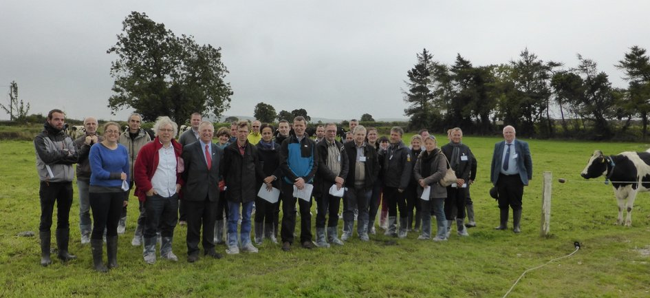 Researchers from INRA and Teagasc gathered for a three-days conference - JPEG